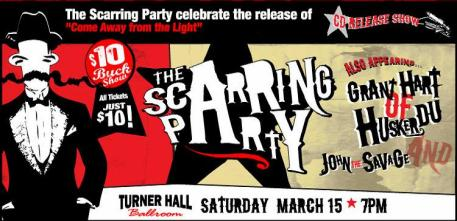 scarring party flyer